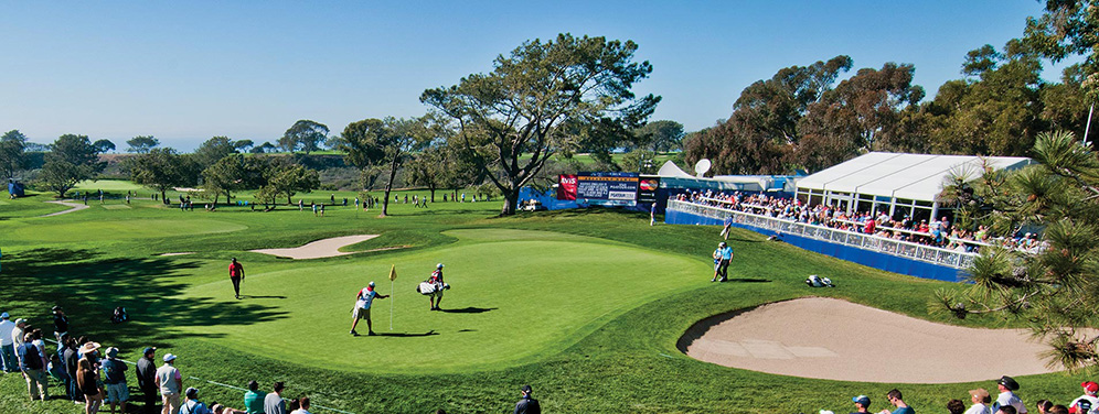 LIGHTWORKS hits the Green at this year's Farmers Insurance Open Golf Tournament